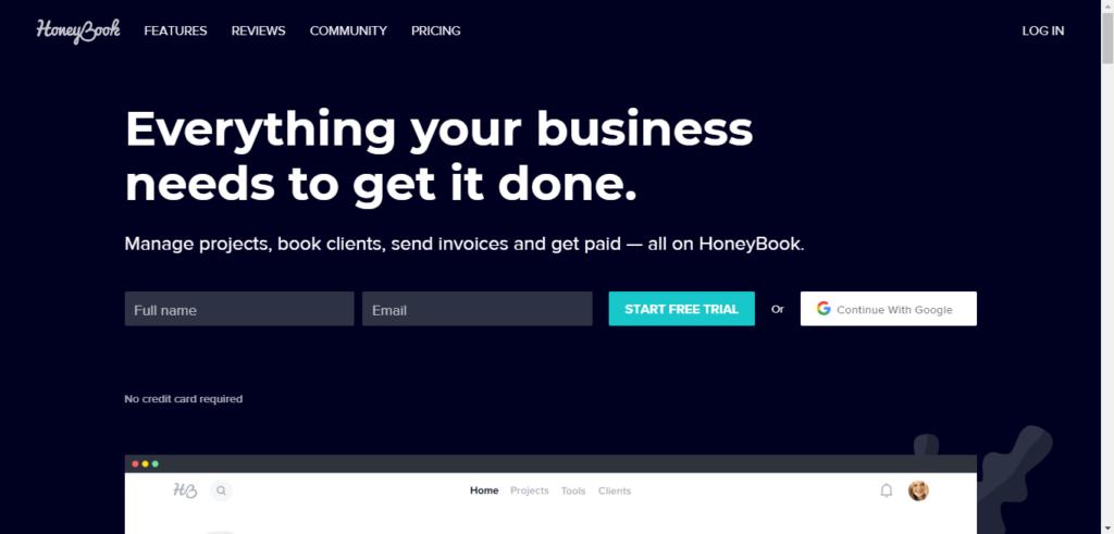 best HoneyBook alternatives